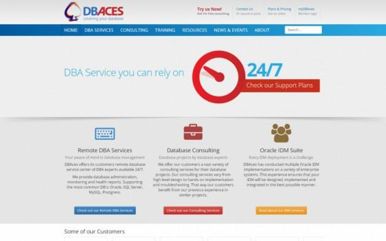 בניית אתרים | עיצוב אתרים | ג'ומלה - עיצוב ובניית אתר DBACES - dbaces-homepage-