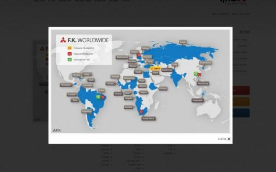 בניית אתרים | עיצוב אתרים | ג'ומלה - בניית אתר פ.ק. גנרטורים - map-