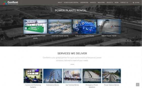 בניית אתרים | עיצוב אתרים | ג'ומלה - בניית אתר ג'נרנט - genrent-2016-home-roll-