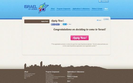 בניית אתרים | עיצוב אתרים | ג'ומלה - Israel By Design - apply-