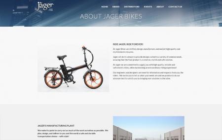 בניית אתרים | עיצוב אתרים | ג'ומלה - בניית אתר אופני ג'אגר - about-