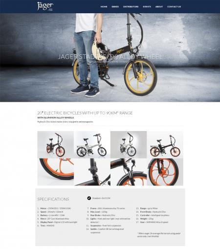 בניית אתרים | עיצוב אתרים | ג'ומלה - בניית אתר אופני ג'אגר - jager-gold-