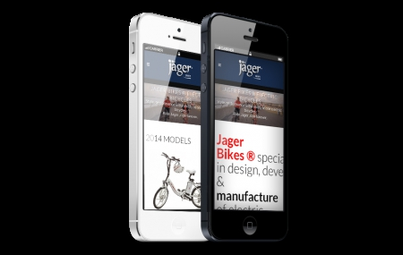 בניית אתרים | עיצוב אתרים | ג'ומלה - בניית אתר אופני ג'אגר - jager-iphone-