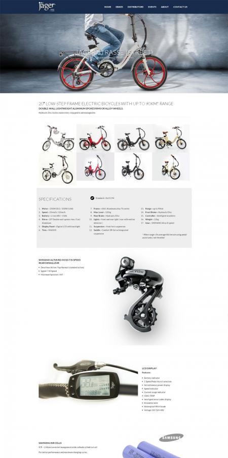 בניית אתרים | עיצוב אתרים | ג'ומלה - בניית אתר אופני ג'אגר - product-page-