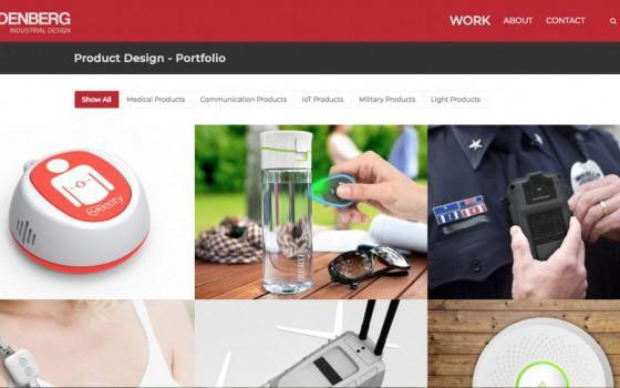 בניית אתרים | עיצוב אתרים | ג'ומלה - בניית אתר סטודיו לעיצוב תעשייתי - -