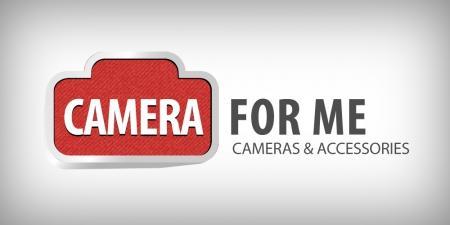 עיצוב לוגו - לוגו עבור אתר למכירת ציוד למצלמות - camera4me-