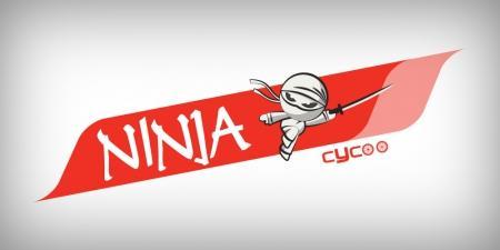 עיצוב לוגו -  עיצוב לוגו לאופניים חשמליות סייקו נינג'ה - cycoo-ninja-