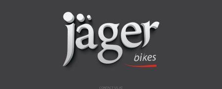 עיצוב לוגו - לוגו חדש לחברת ג'אגר Jager bikes logo - jager metal-